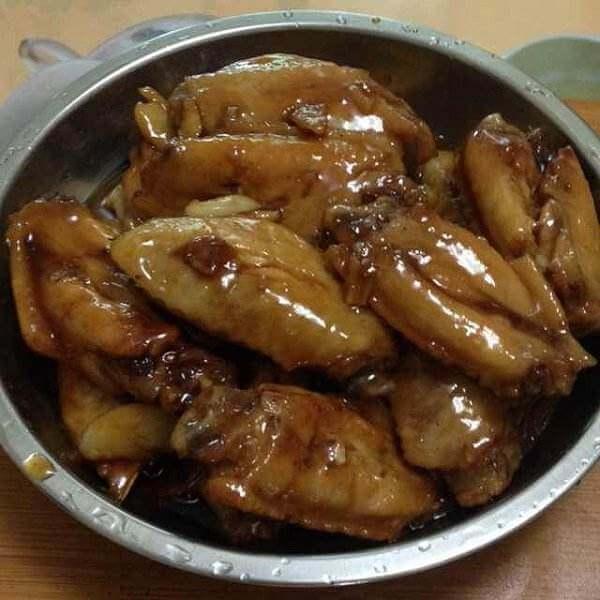 白果烧鸡翅