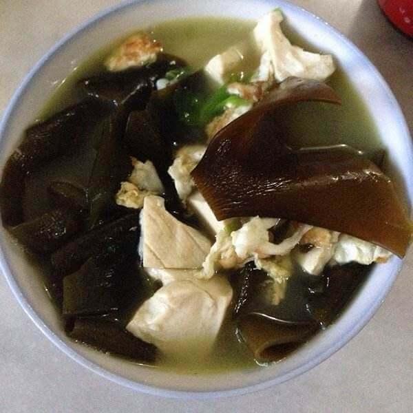 海带豆腐猪肉汤