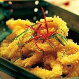 黄金鱿鱼卷
