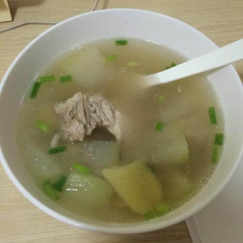沙白冬瓜汤