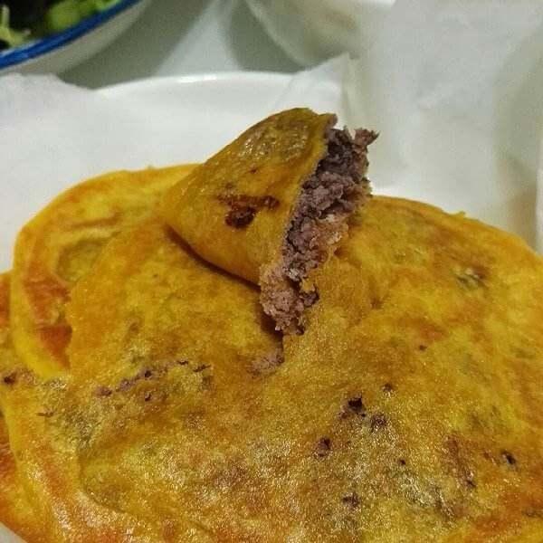 南瓜红豆饼
