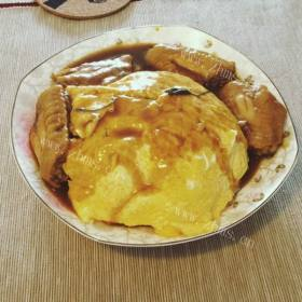 蛋香咖喱豆泡