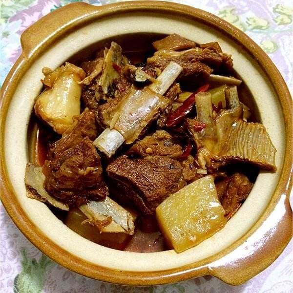 羊排萝卜煲