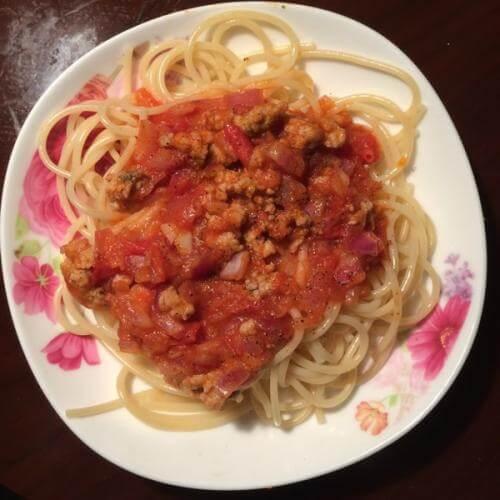 番茄肉酱意粉