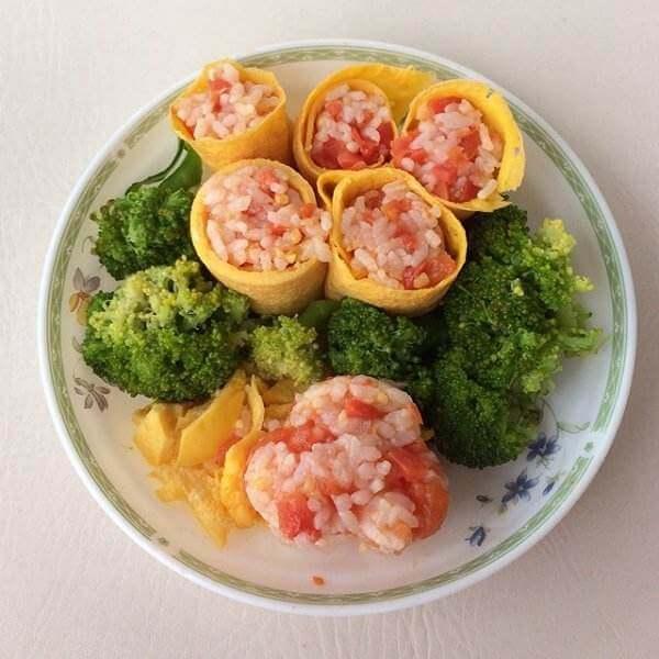 西红柿饭卷