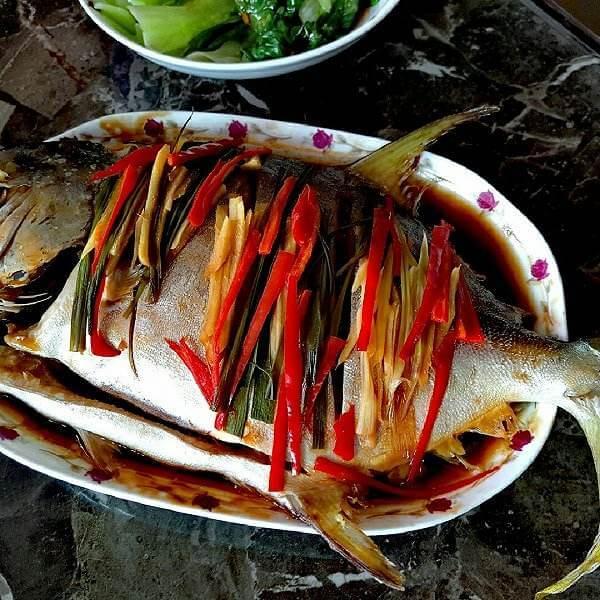 清蒸龙舌鱼