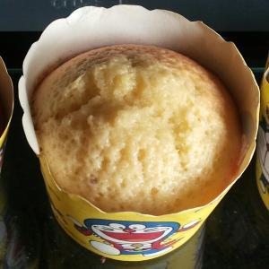 黄金海绵杯子蛋糕