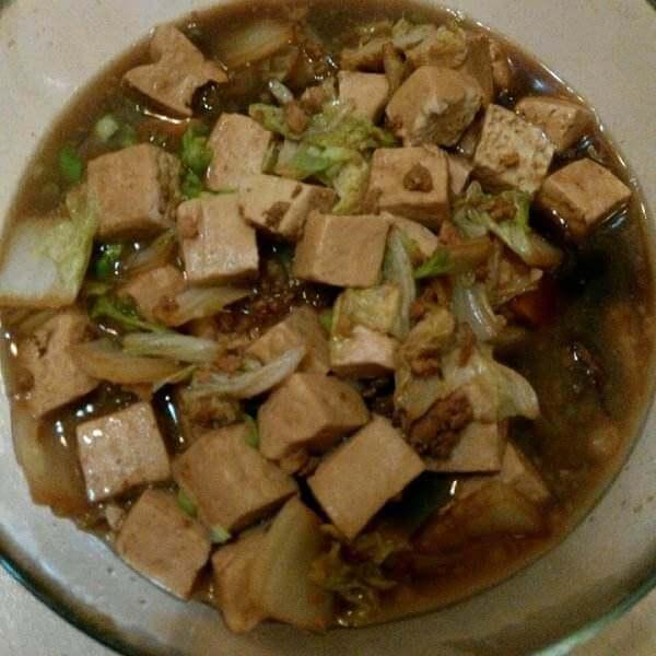 白菜豆腐保平安