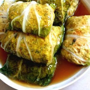 营养白菜卷