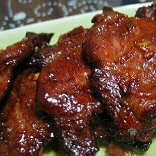 蜜制叉烧肉