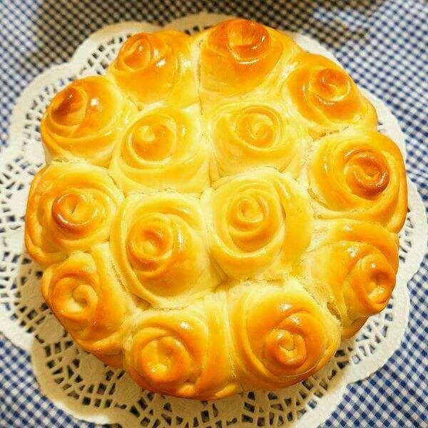 香橙辫子面包