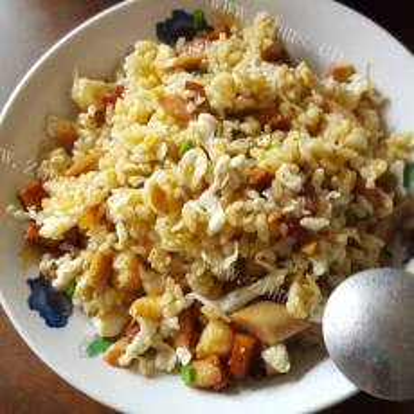 干贝蛋白炒饭