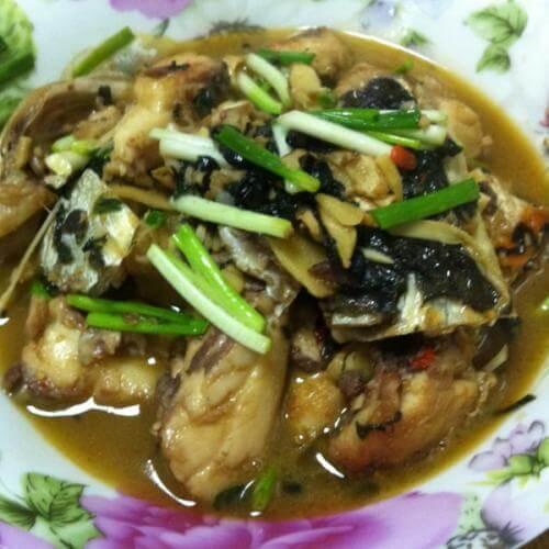 酱油草鱼腩