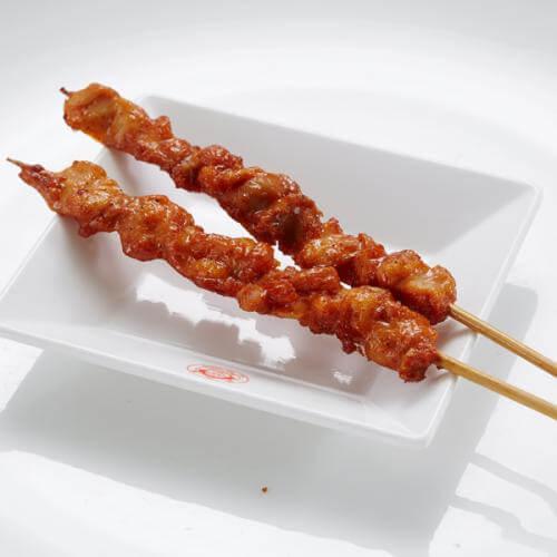 黑椒鸡肉串