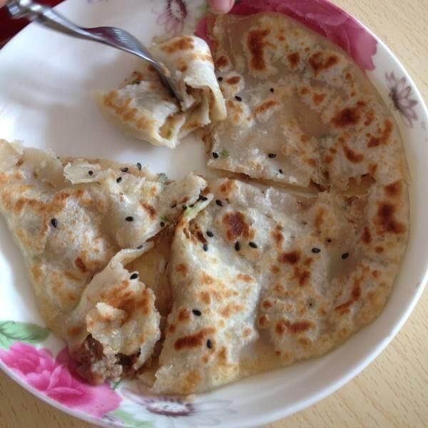 牛肉藕小饼
