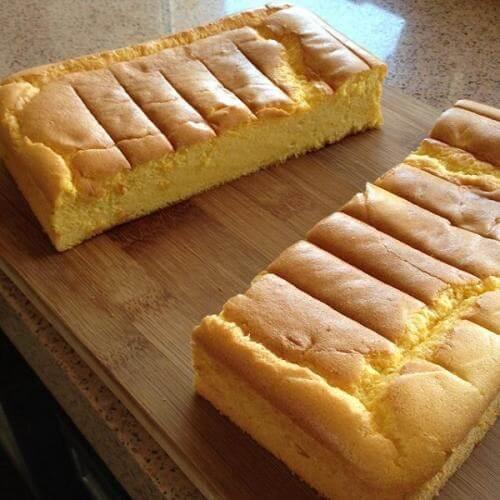 五彩奶香南瓜蛋糕