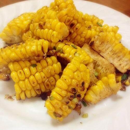 家常菜椒盐玉米