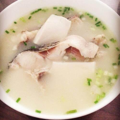 茨菇豆腐汤