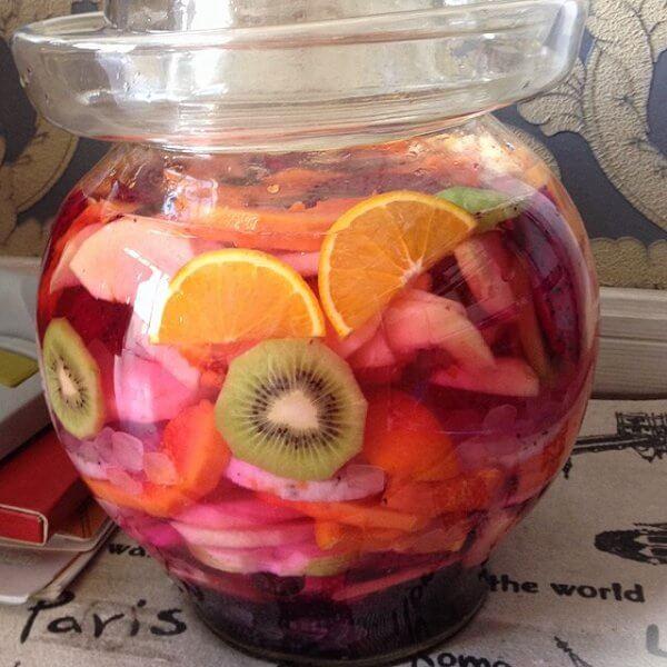 百汇水果冰茶
