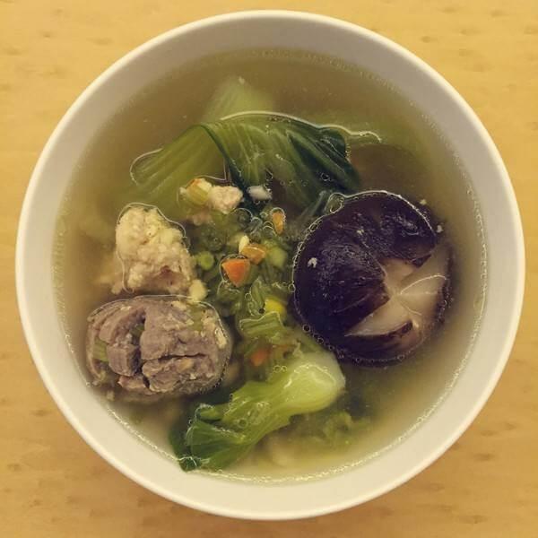 香芹牛肉丸汤