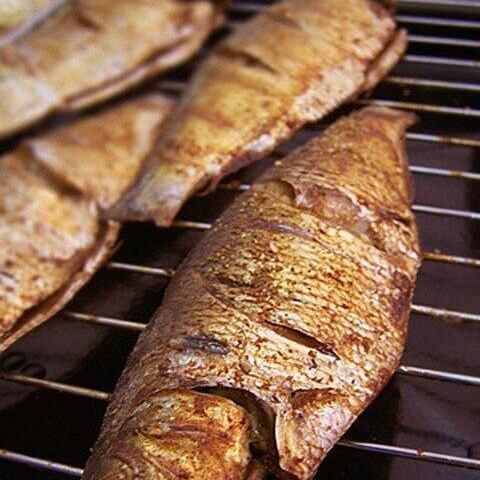 自制焦香烤鱼