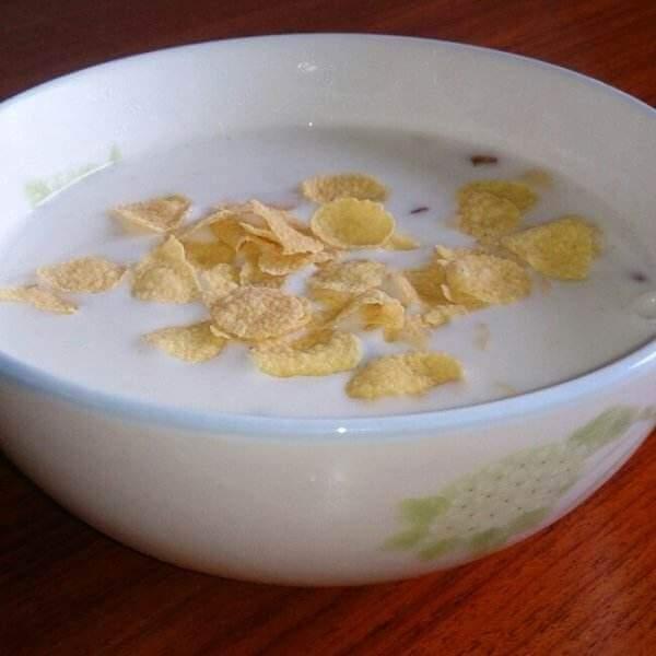 玉米燕麦粥