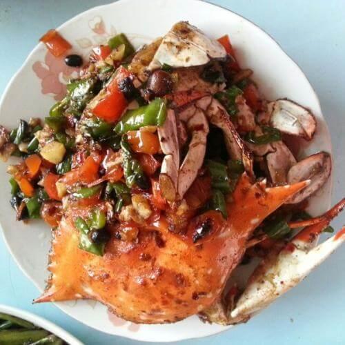 葱姜炒肉蟹