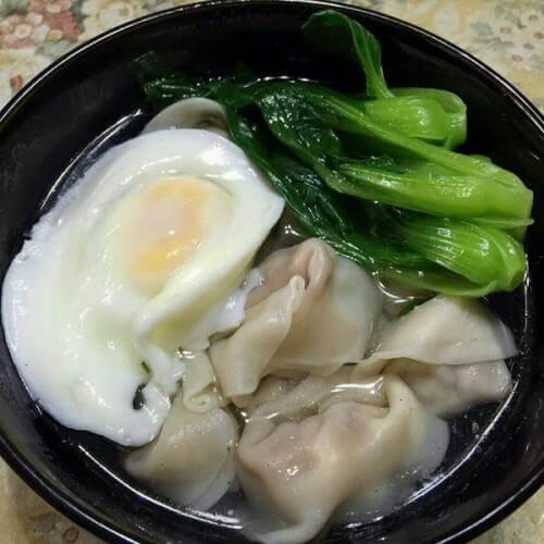 鲜肉青菜馄饨