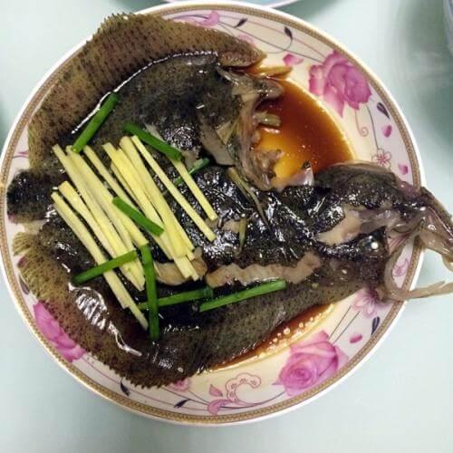营养的清蒸多宝鱼
