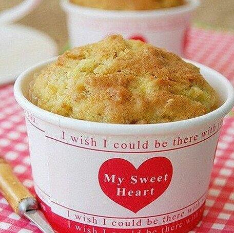 燕麦苹果松糕