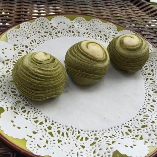 绿豆千层卷