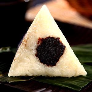 红豆豆沙粽