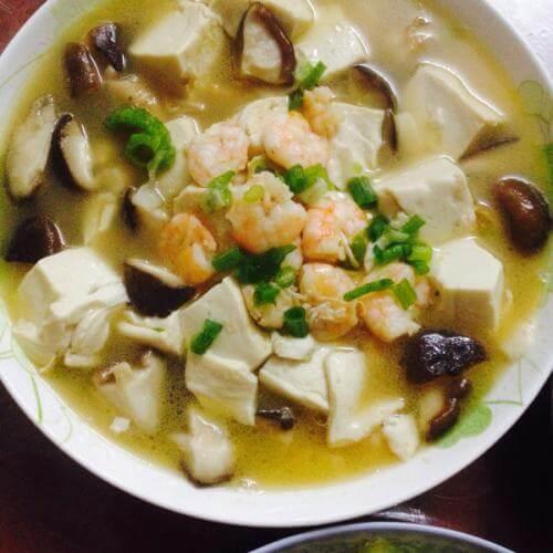 家常三鲜豆腐