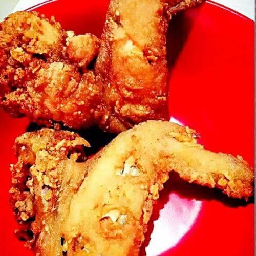 咖喱香酥鸡翅