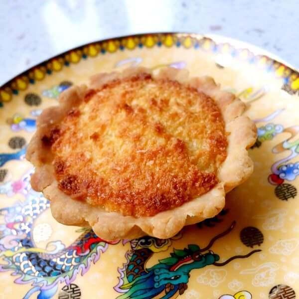 椰子鸡蛋饼