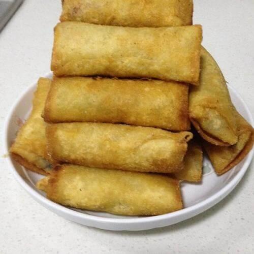 豆腐皮猪肉卷