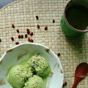咖啡红豆冰激凌