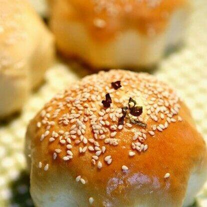 榨菜肉丝面包