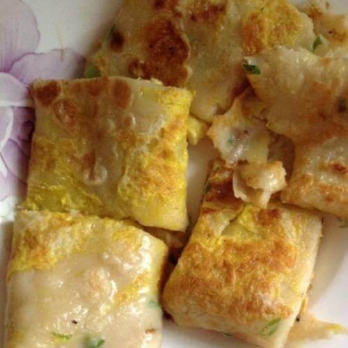 杂粮鸡蛋煎饼