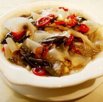 榨菜肉丝焖米