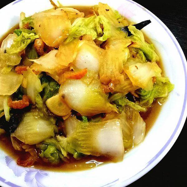 白菜烧海米