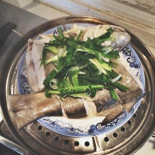 清蒸五笋鱼