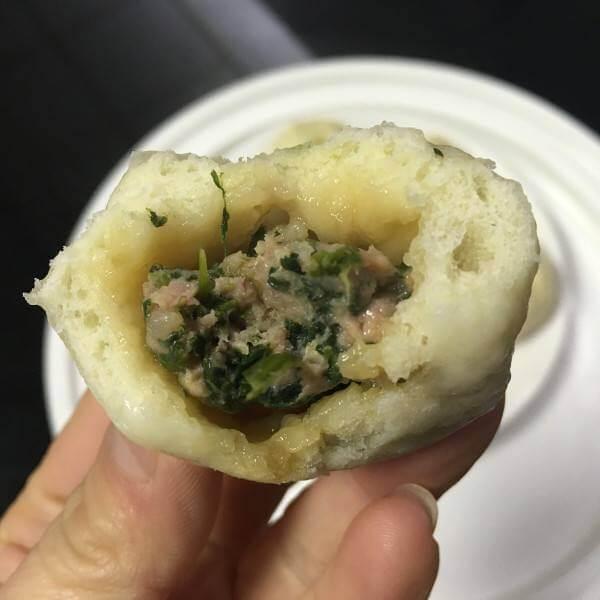 北味荠菜包