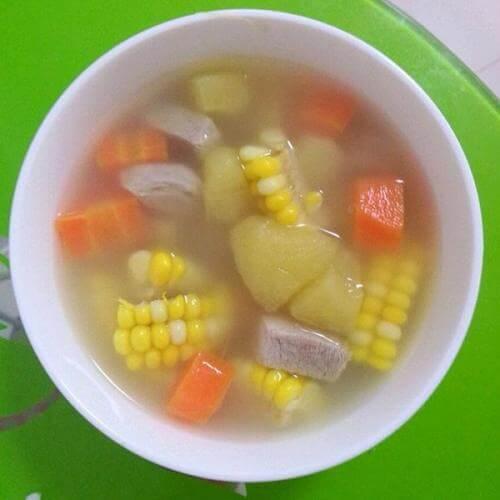 田园鸡手汤