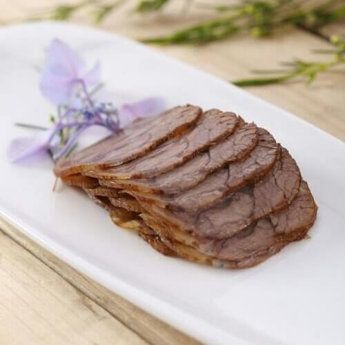 锅贴金钱牛肉
