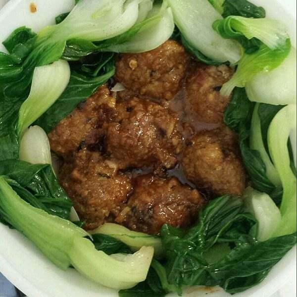 香菇牛肉丸子
