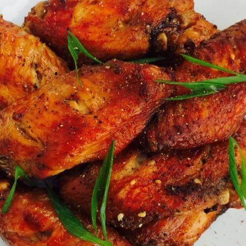 黑椒蜜烤鸡翅