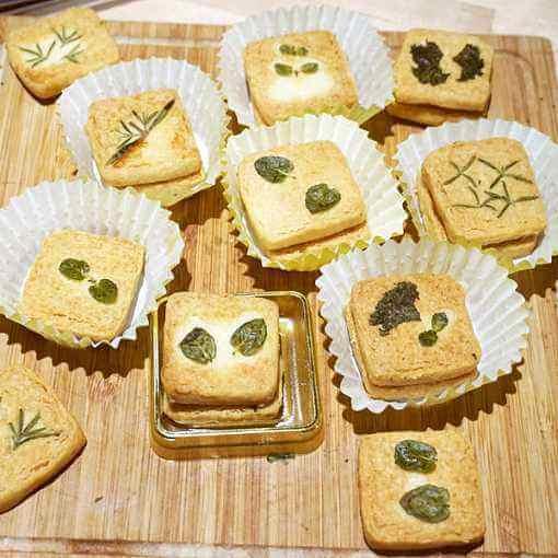 自制香草小饼