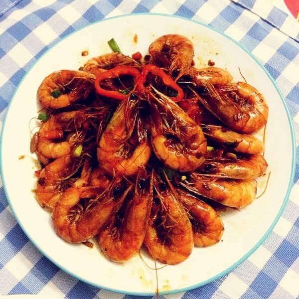 暖暖香辣虾