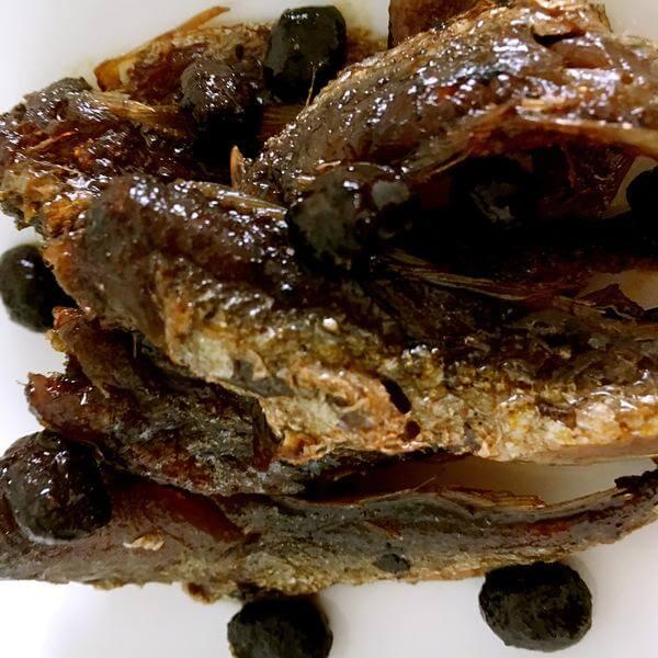 豆豉小黄鱼